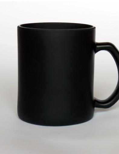 Fekete színváltós üveg bögre