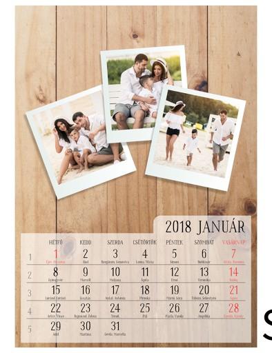 3 kép/hónap (A4 méret)