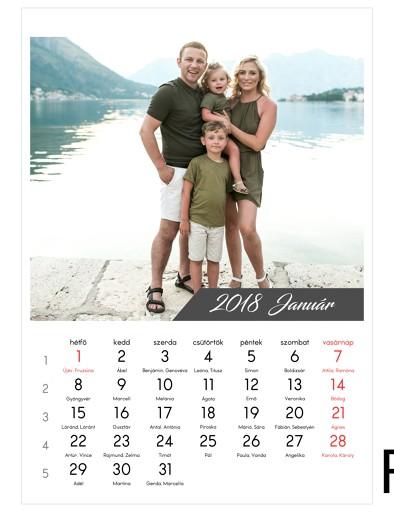 1 kép/hónap (A4 méret)