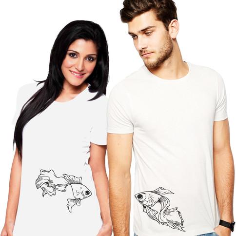 Páros bögre - halak
