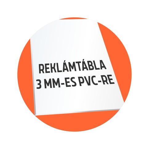 3mm-es PVC reklámtábla